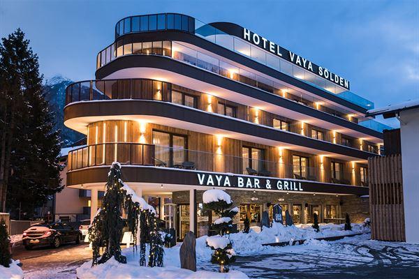 Vaya Hotel Sölden - Gletsjerskiën